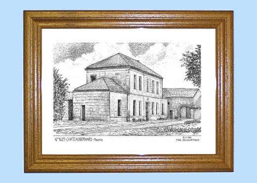 Cadeaux souvenirs de BECHERESSE 16 Charente Yves  ~ Bois Bernard Mairie