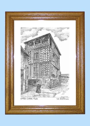 cartes postales de clairac 47 lot et garonne yves ducourtioux editeur souvenirs ville departement
