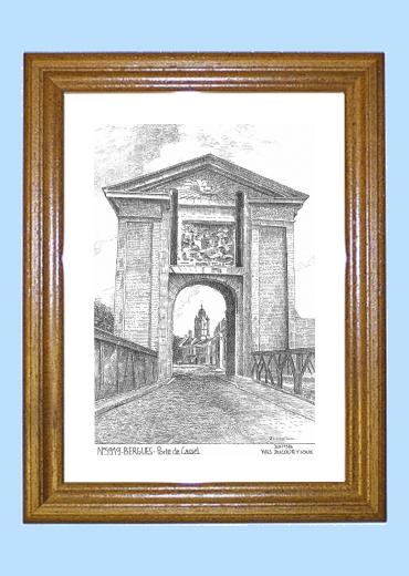 Cartes postales de bergues 59 nord yves ducourtioux - Cadre de porte en bois ...