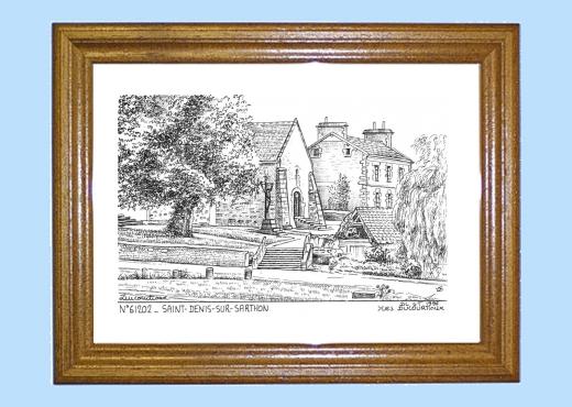 Cartes postales de st denis sur sarthon 61 orne yves ducourtioux editeur souvenirs ville - Piscine foret noire allemagne saint denis ...