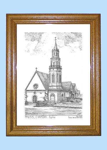 cartes postales de chandai 61 orne yves ducourtioux editeur souvenirs ville departement
