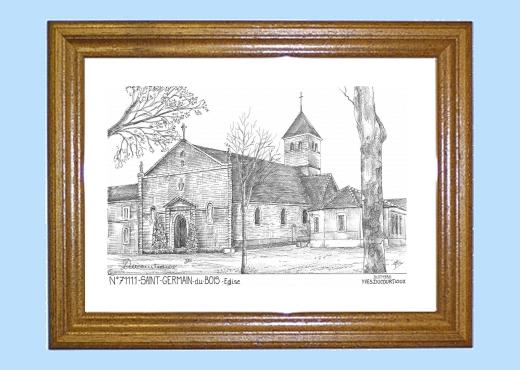 Cartes Postales de ST GERMAIN DU BOIS 71 Saone et Loire  ~ Mairie Saint Germain Du Bois