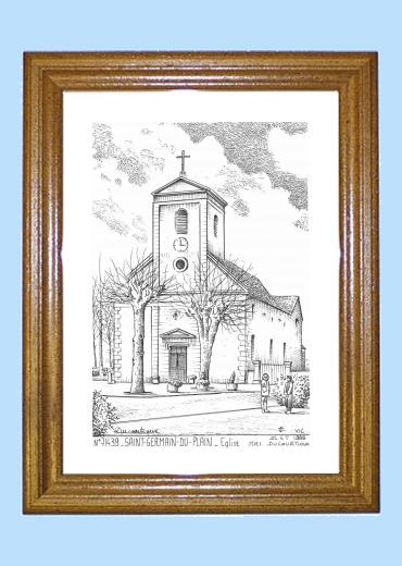 Cartes Postales de SAINT GERMAIN DU PLAIN 71 Saone et  ~ Mairie Saint Germain Du Bois