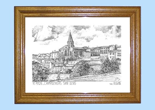 Cartes postales de champdeniers st denis 79 deux sevres - Piscine foret noire allemagne saint denis ...