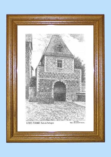 Cadeaux souvenirs de peronne 80 somme yves ducourtioux - Cadre de porte en bois ...