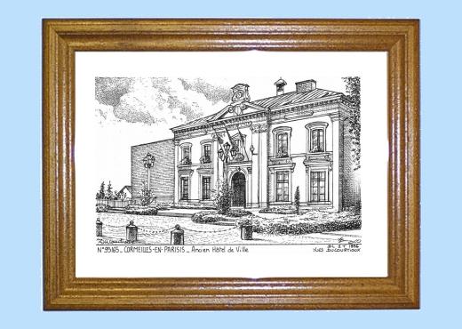 Cartes postales de cormeilles 27 eure yves ducourtioux for Piscine cormeilles en parisis
