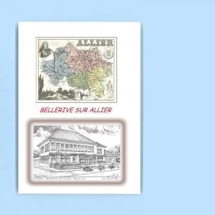 Cartes postales de bellerive sur allier 03 allier yves for Recherche hotel sur carte