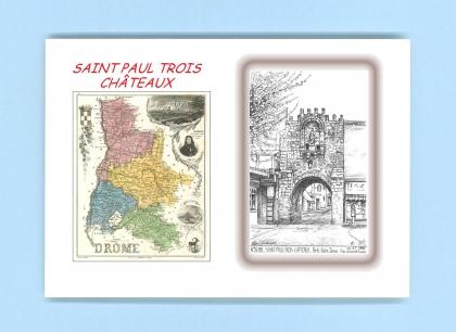 Cartes postales de st paul trois chateaux 26 drome yves - La table des seigneurs saint paul trois chateaux ...