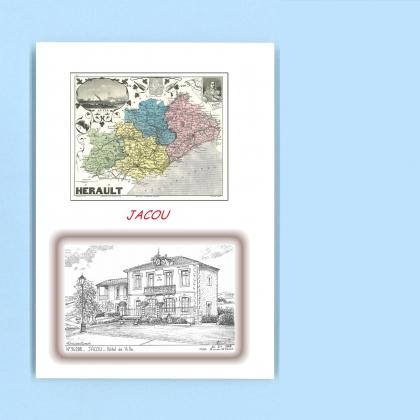 Cartes postales de jacou 34 herault yves ducourtioux for Recherche hotel sur carte