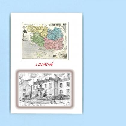 Cartes postales de quelneuc 56 morbihan yves ducourtioux for Recherche hotel sur carte