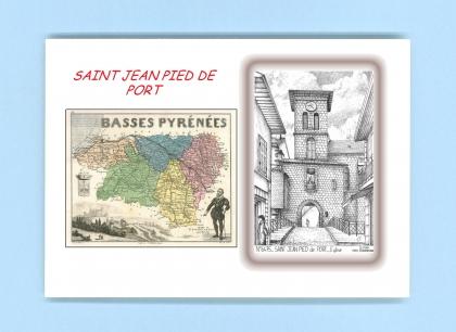 Cartes postales de lacommande 64 pyrenees atlantiques for Construction piscine saint jean pied de port