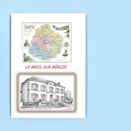 Cadeaux souvenirs de le breil sur merize 72 sarthe yves for Recherche hotel sur carte