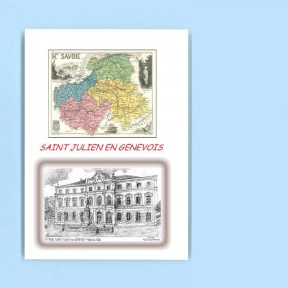 Cartes postales de brizon 74 haute savoie yves for Piscine st julien en genevois