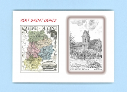 cartes postales de vert st denis 77 seine et marne yves ducourtioux editeur souvenirs ville. Black Bedroom Furniture Sets. Home Design Ideas