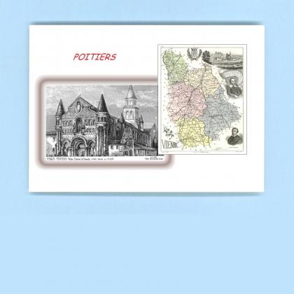 Cartes postales de la roche rigault 86 vienne yves for Poitier numero departement