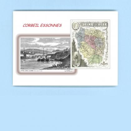 Cartes postales de les granges le roi 91 essonne yves for Piscine de corbeil essonnes