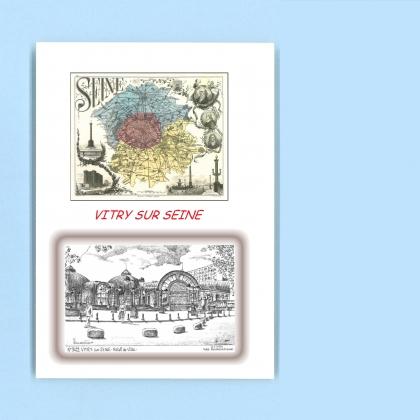 Cartes postales de vitry sur seine 94 val de marne yves - Piscine avec pente douce vitry sur seine ...
