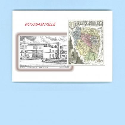Cartes postales de goussainville 28 eure et loir yves for Recherche hotel sur carte