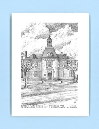 Cartes postales de st trivier sur moignans 01 ain yves for Recherche hotel sur carte