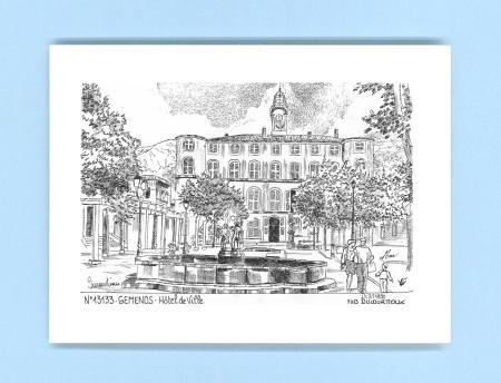 Cartes postales de gemenos 13 bouches du rhone yves for Recherche hotel sur carte