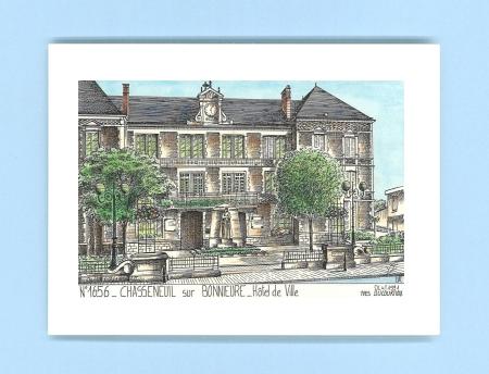 Cartes postales de bayers 16 charente yves ducourtioux for Piscine chasseneuil sur bonnieure