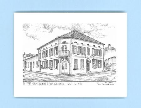 Cartes postales de st bonnet sur gironde 17 charente for Recherche hotel sur carte