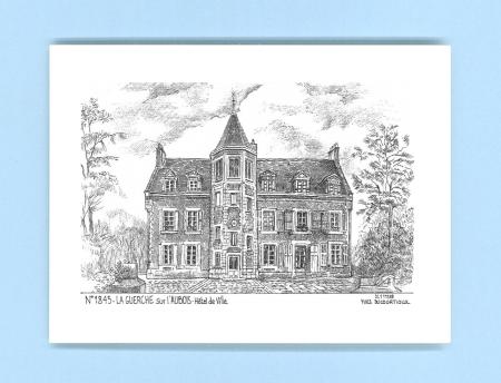 Cartes postales de la guerche sur l aubois 18 cher yves for Recherche hotel sur carte