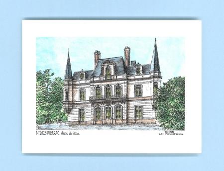 Cartes postales de riberac 24 dordogne yves ducourtioux for Recherche hotel sur carte