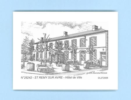 Cartes postales de st remy sur avre 28 eure et loir yves for Recherche hotel sur carte