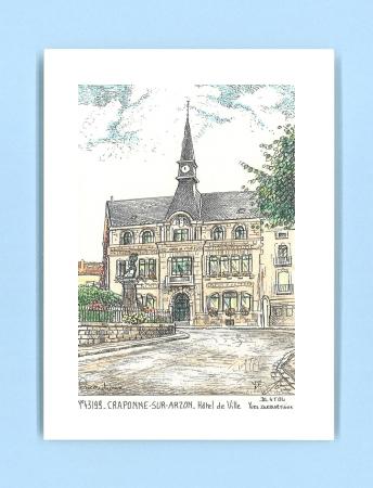 Cartes postales de craponne 69 rhone yves ducourtioux for Recherche hotel sur carte