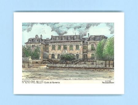 cartes postales de fayl billot 52 haute marne yves ducourtioux editeur souvenirs ville departement. Black Bedroom Furniture Sets. Home Design Ideas