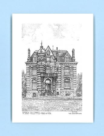 Cartes postales de hellemmes 59 nord yves ducourtioux for Recherche hotel sur carte