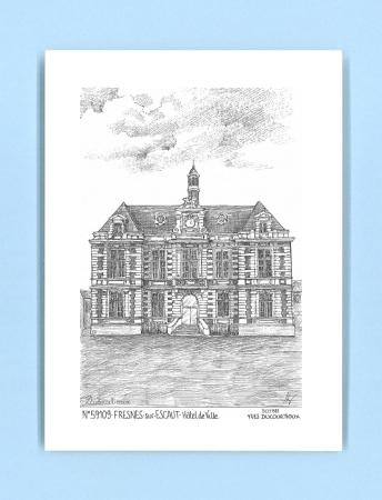 Cartes postales de fresnes sur escaut 59 nord yves for Recherche hotel sur carte