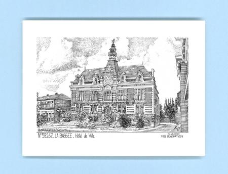 Cartes postales de la bassee 59 nord yves ducourtioux for Recherche hotel sur carte
