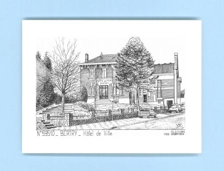 Cartes postales de bertry 59 nord yves ducourtioux for Recherche hotel sur carte