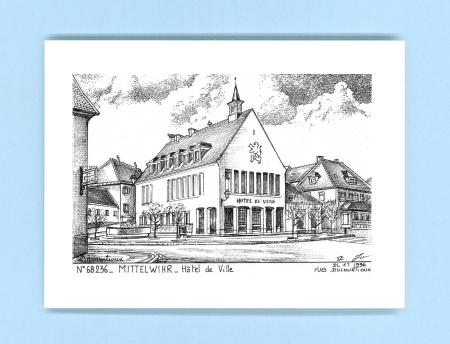 Cartes postales de mittelwihr 68 haut rhin yves for Recherche hotel sur carte