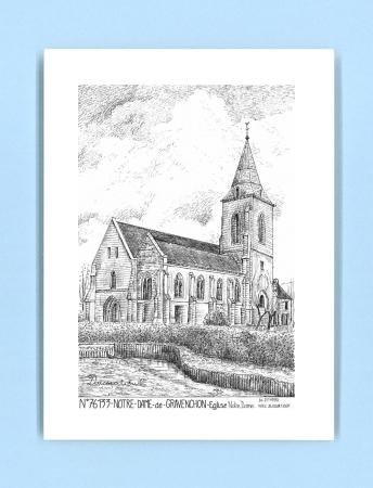 Cartes Postales De Notre Dame De Gravenchon 76 Seine