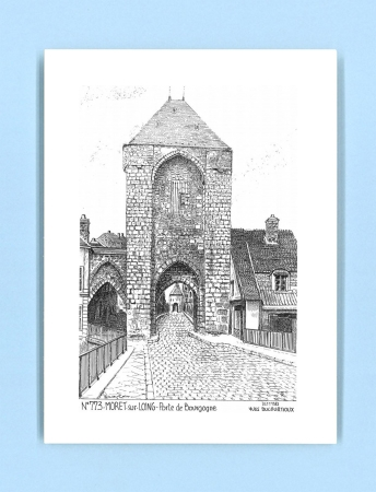 Cartes postales de montevrain 77 seine et marne yves - La porte de bourgogne moret sur loing ...