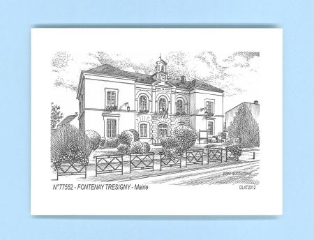Cartes postales de fontenay tresigny 77 seine et marne for Piscine de fontenay tresigny