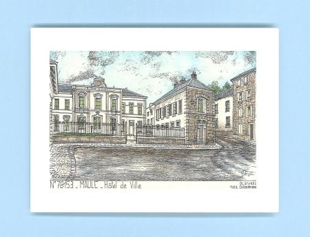 Cartes postales de maule 78 yvelines yves ducourtioux for Recherche hotel sur carte