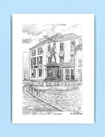 Cartes postales de st leu la foret 95 val d oise yves ducourtioux editeur souvenirs ville - Piscine foret noire allemagne saint denis ...