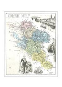 HHH<b>N° 17DPT</b> - Charente Maritime  - (Charente Inférieure)