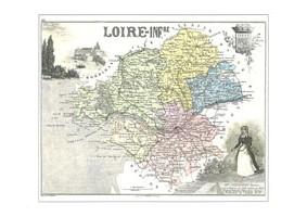 LLL<b>N° 44DPT</b> - Loire Atlantique  - (Loire Inférieure)