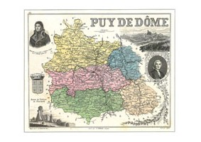 LLL<b>N° 63DPT</b> - Puy de Dôme
