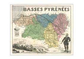 LLL<b>N° 64DPT</b> - Pyrénées Atlantiques  - (Basses Pyrénées)