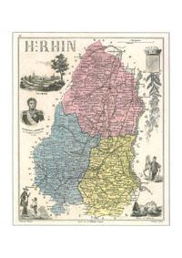 HHH<b>N° 68DPT</b> - Haut Rhin
