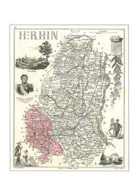 HHH<b>N° 90DPT</b> - Territoire de Belfort  - (partie du Haut Rhin)