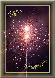 HHJoyeux Anniversaire N° C0220