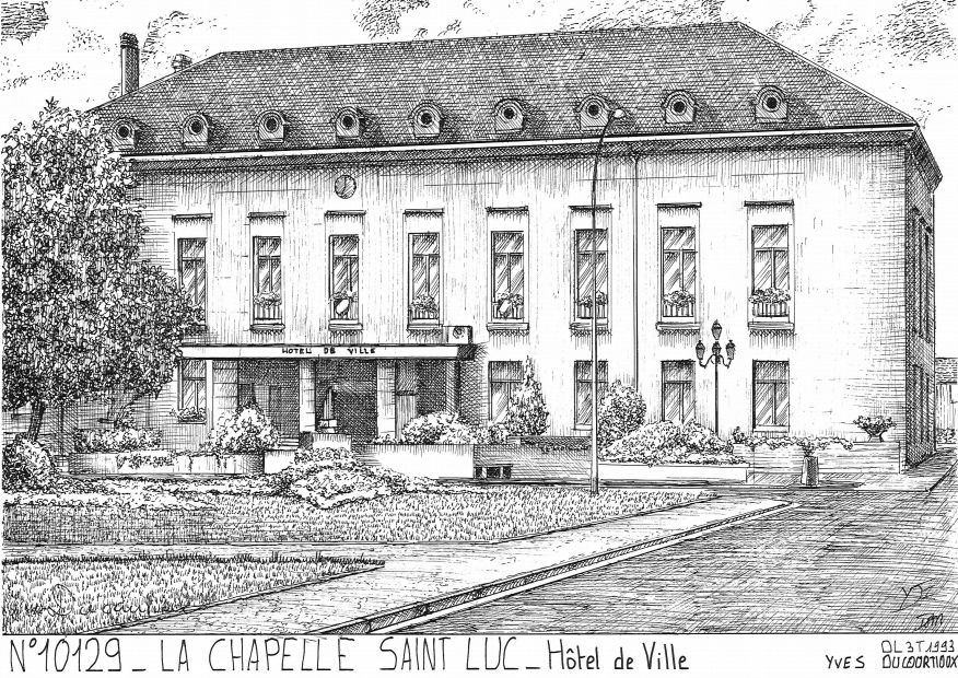 Cartes postales de macey 10 aube yves ducourtioux editeur for Piscine la chapelle st luc