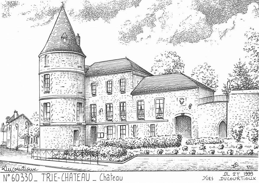 Cartes postales de bachivillers 60 oise yves ducourtioux for Piscine trie chateau
